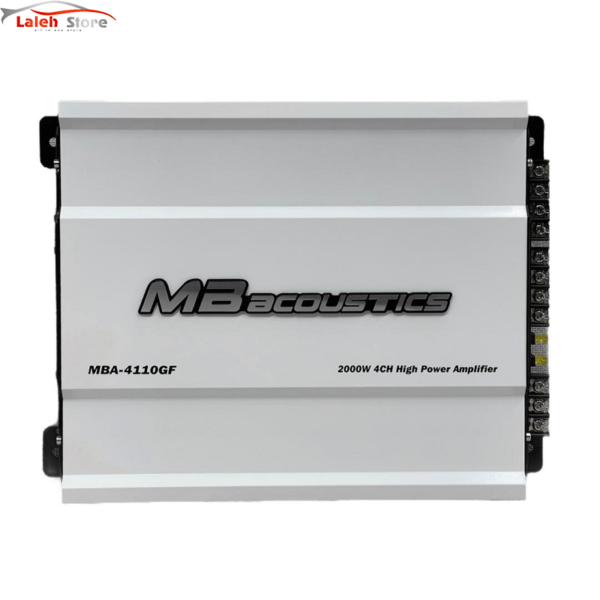 MB acoustics MBA-4110-آمپلی فایر ام بی اکوستیک مدل 4110